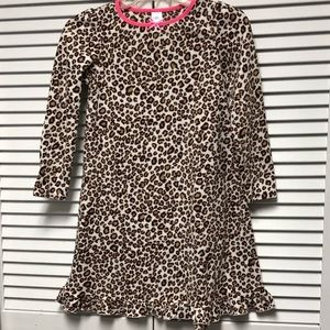 Children's place leopard print nightgown